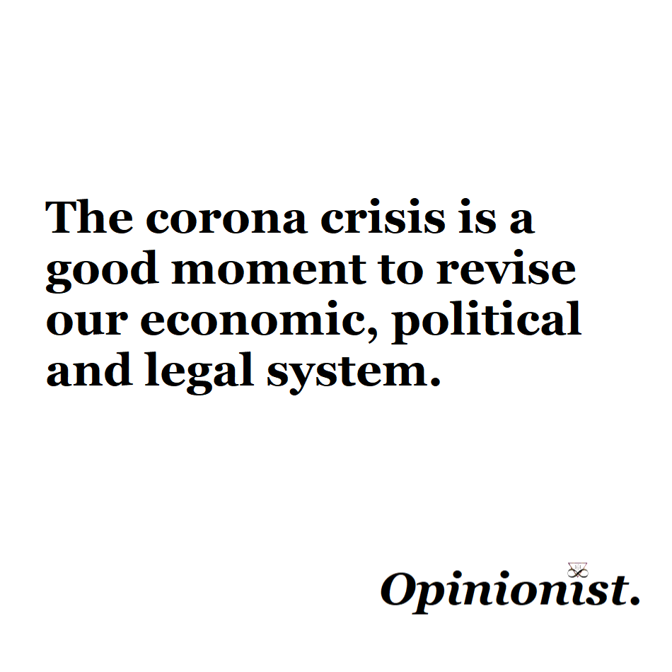 corona economics politics law opinionist